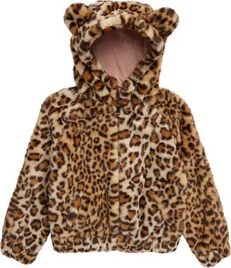 Tucker + Tate Kids' Faux Fur Bomber Jacket