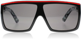 Dragon Fame Sunglasses Black And Red 2297