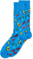 Hot Sox Men's Avocado Socks