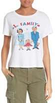 RE/DONE Women's First Family Graphic Tee