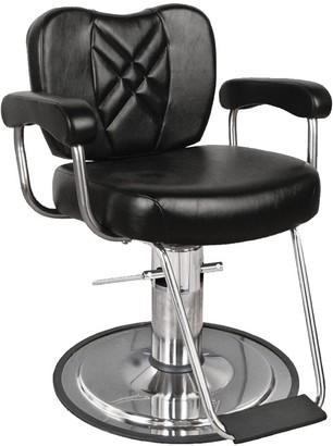 Collins Black Metro Barber Chair