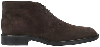 Tod's Tods Laced-up Ankle Boots