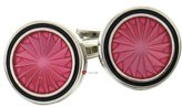 I Luv LTD Turbine - Silver Plated Cufflinks