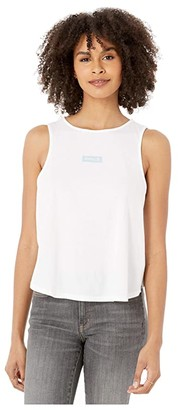 Hurley One and Only Box Flouncy Tank Top (White) Women's Clothing