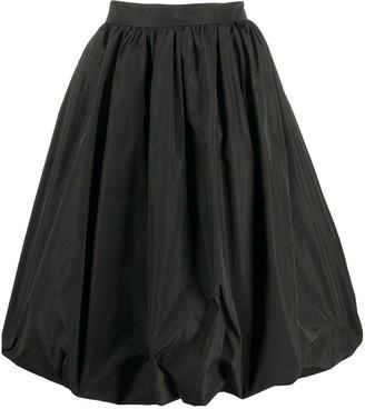 Patou Generous bubble-silhouette skirt