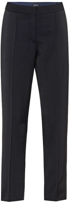 A.P.C. Laure twill straight pants