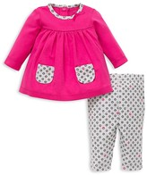 Offspring Infant Girls' Dot Trimmed Tunic & Legging Set - Sizes 3-9 Months