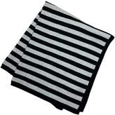 Lucky Jade Striped Black Blanket