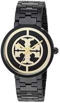 Tory Burch Reva - TBW4039 (Black) Watches