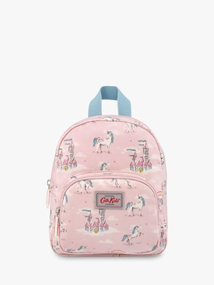 Cath Kidston Cath Kids Children's Unicorns & Rainbows Mini Rucksack, Pink