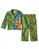 Nickelodeon Toddler Boy Teenage Mutant Ninja Turtles Button-Down Fleece Pajama Set
