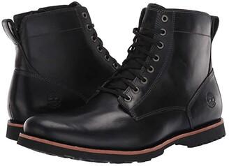 Timberland Kendrick Side Zip Waterproof Boot (Black Full-Grain) Men's Boots