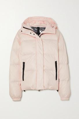 Bogner Fire & Ice BOGNER FIREICE - Ranja Oversized Cropped Hooded Quilted Down Ski Jacket - Blush