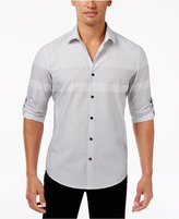 Alfani Big and Tall Men's Colorblocked Shirt, Created for Macy's