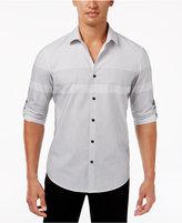 Alfani Big & Tall Men's Colorblocked Shirt, Only at Macy's