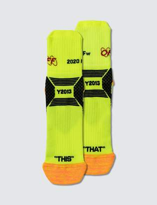 Off-White Off White Industrial Y013 Ankle Socks