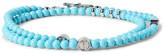 Isaia Turquoise Silver Wrap Bracelet