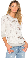 Black Orchid Burnout Sweatshirt in Gray. - size L (also in M,S,XS)