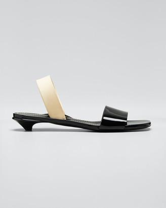 Proenza Schouler Tic Slide Kitten Sandals