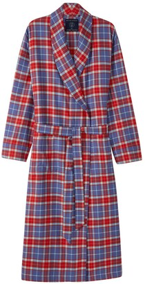 British Boxers Men's Thorncliffe Brushed Cotton Dressing Gown