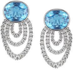 Dana Rebecca Lori Paige Blue Topaz Earrings