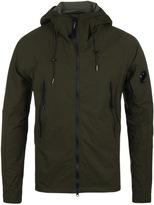 Cp Company Pro-tek Khaki Hooded Watchviewer Jacket