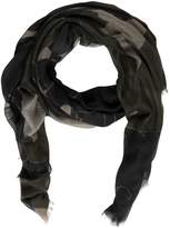 Valentino Panther Modal, Cashmere & Silk Scarf