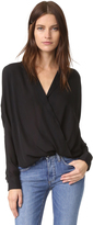 Vince Wrap Blouse