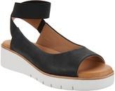 Corso Como Leather Ankle Strap Sandals - Beeata