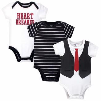 Little Treasure Baby Bodysuits 3pk