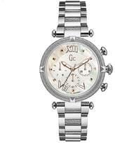 Gc Women's Ladychic Steel Bracelet & Case Quartz Mop Dial Watch Y16001l1