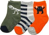 Carter's Baby / Toddler 3-pk. Dino & Monster Socks
