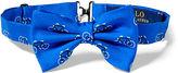 Ralph Lauren Bicycle Silk Twill Bow Tie