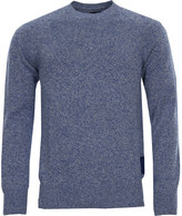Barbour Crew Neck Jumper MKN0631-BL56 Bright Blue Marl