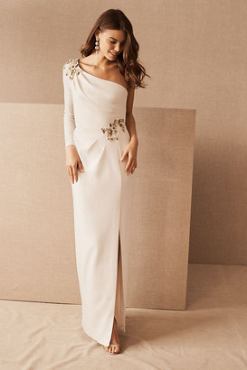 Marchesa Lexia Dress By in White Size 14