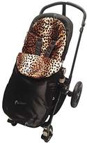 Animal Print Padded Footmuff/Cosy Toes Compatible with Phil and Teds Navigator/Dot - Leopard