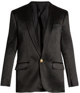 Balmain Single-breasted Silk Blazer
