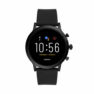 Fossil Unisex 44MM Gen 5 Carlyle HR Heart Rate Stainless Steel Touchscreen Smart Watch