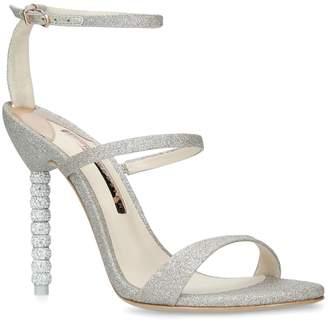 Sophia Webster Glitter Rosalind Sandals 100