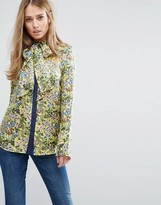 Warehouse Garden Posy Silk Blouse