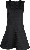 Josie Natori Jacquard Fit And Flare Dress