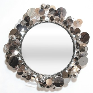 Jonathan Adler C. Jere Raindrops Wall Sculpture Mirror