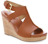Me Too Atlantis Leather Wedge Sandals