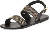 Ancient Greek Sandals Dinami Studded Two-Band Sandal