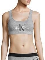 Calvin Klein Squareneck Crisscross-Back Sports Bra