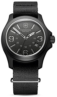 Victorinox Original Black Watch, 40mm
