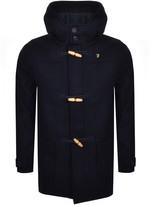 Farah Poppleton Duffle Jacket Navy