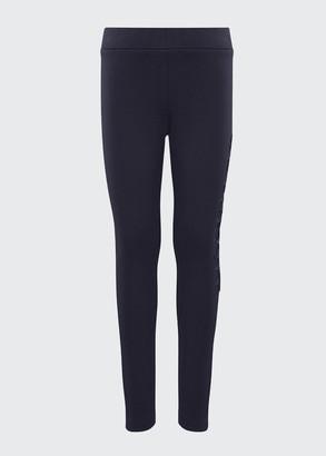 Moncler Girl's Logo Leggings, Size 8-14