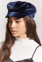 Forever 21 Velvet Cabby Hat