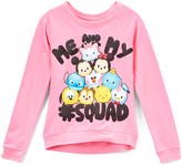 Jerry Leigh Pink Disney Tsum Tsum '#Squad' Pullover - Toddler & Girls
